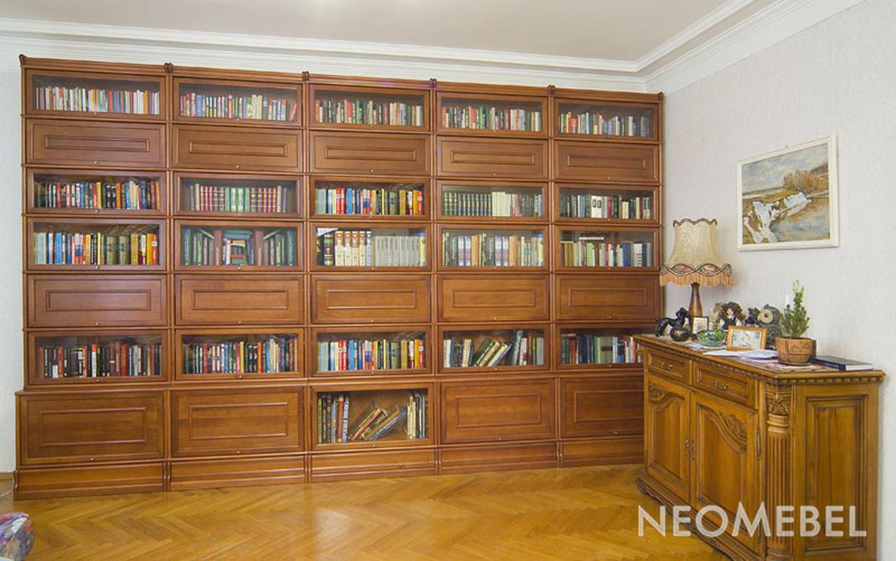 Мебельная композиция для библиотеки.